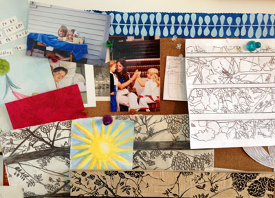 re-energized my inspiration board